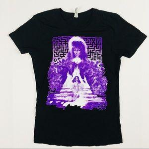 Tops - David Bowie Labyrinth T-Shirt Size Large Juniors